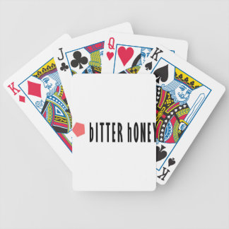 Bitter Honey Bicycle Playing Cards