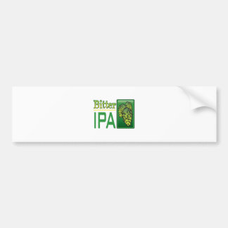 Bitter IPA Bumper Sticker