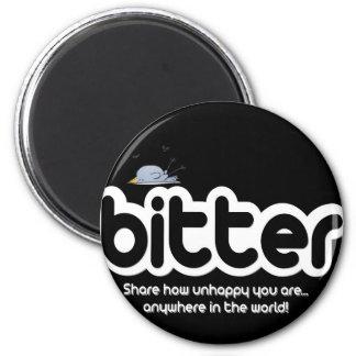 """""""Bitter"""" 6 Cm Round Magnet"""