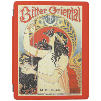 """""""Bitter Oriental"""" Vintage Ad custom device covers iPad Cover"""