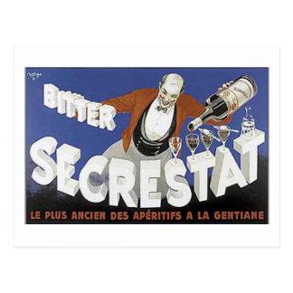 Bitter Secrestat Post Card