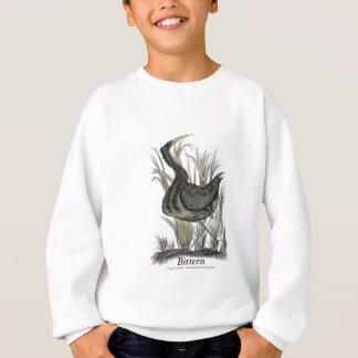 Bittern bird, tony fernandes sweatshirt