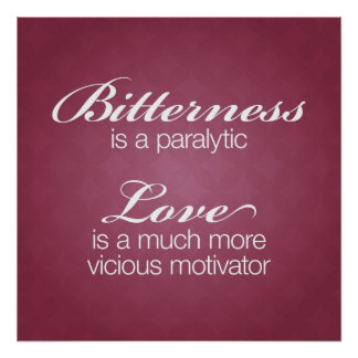 Bitterness & Love Poster