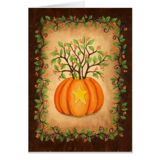 Bittersweet & Pumpkin Halloween Card