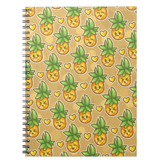 Bitty Pineapple Notebook