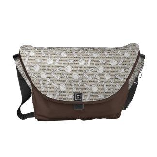 BITUB Pattern (Believe in the Unbelievable) Messenger Bags