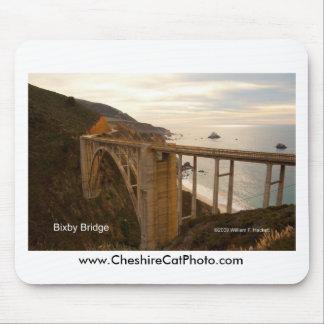 Bixby Bridge Big Sur California Products Mousepads
