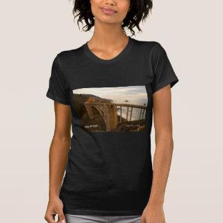 Bixby Bridge Big Sur California Products T-shirt