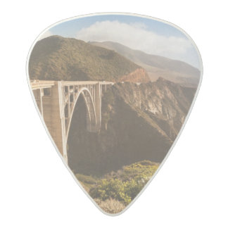 Bixby Bridge, Big Sur, California, USA Acetal Guitar Pick