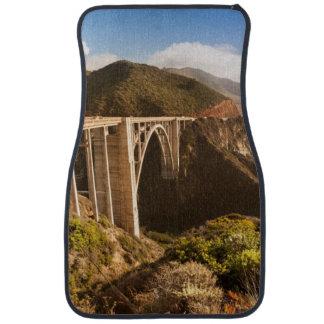 Bixby Bridge, Big Sur, California, USA Car Mat
