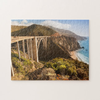 Bixby Bridge, Big Sur, California, USA Jigsaw Puzzle
