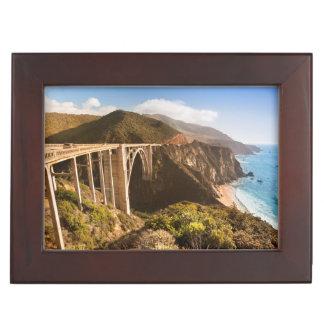 Bixby Bridge, Big Sur, California, USA Keepsake Box