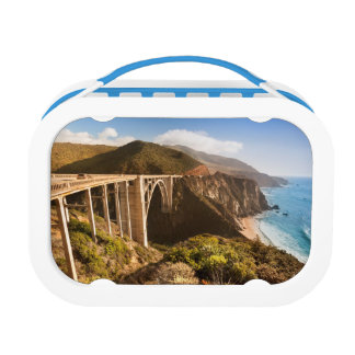 Bixby Bridge, Big Sur, California, USA Lunch Boxes