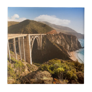Bixby Bridge, Big Sur, California, USA Tile