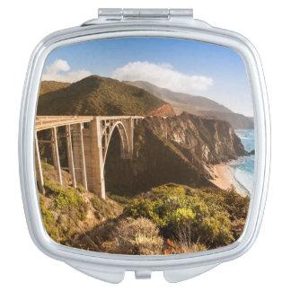 Bixby Bridge, Big Sur, California, USA Vanity Mirror