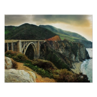 Bixby Bridge Big Sur Print