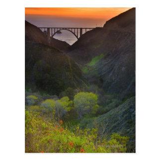 Bixby Bridge Postcard