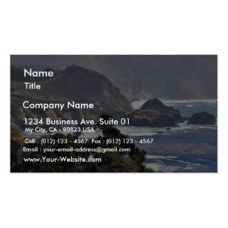 Bixby Bridges Ocean Coastlines Pack Of Standard Business Cards