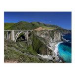 Bixby Creek Bridge - Monterey County California Postcard