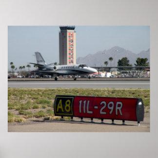Biz Jet in Tuscon Poster
