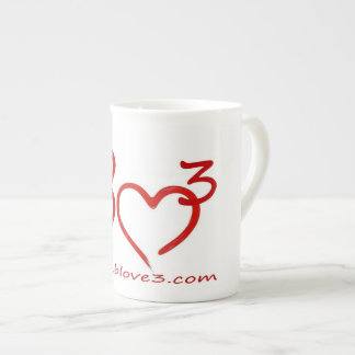 Bizarre Love Triangle Bone China coffee cup