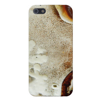 Bizarre nature - bright orange abstract texture iPhone 5/5S cover