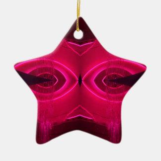 Bizarre Unusual Design Urban Light Art Ceramic Star Decoration