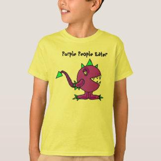 BJ- Funny Purple People Eater Monster Shirt