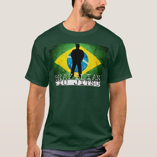 BJJ Brazilian Jiu Jitsu - Brazilian Flag Icon