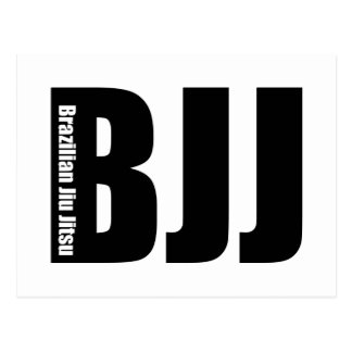 BJJ - Brazilian Jiu Jitsu Postcard