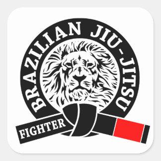 BJJ - Brazilian Jiu - Jitsu Square Sticker