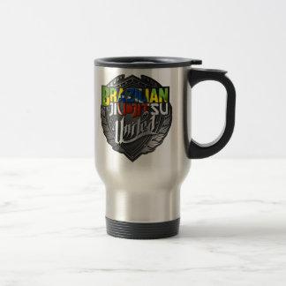 BJJ - Brazilian Jiu Jitsu United Travel Mug