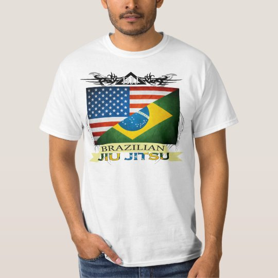 BJJ Flags Fusion T-Shirt