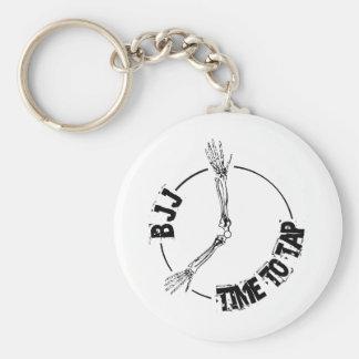 BJJ - Time to Tap Key Ring