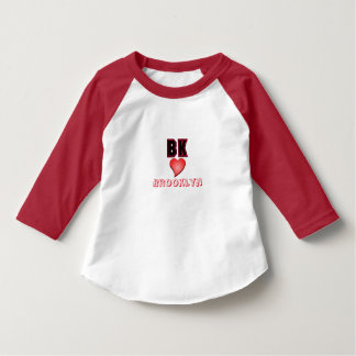 BK Brooklyn Heart Toddler T-Shirt