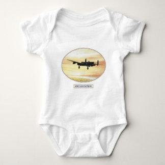 BKB 2 Avro Lancaster B1 [Rear view] LS B copy Baby Bodysuit