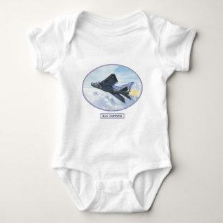 BKB 5 B.A.C. [English Electric]  Lightning LS copy Baby Bodysuit
