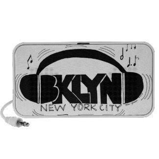 BKLYN DJ Headphones Portable Speakers