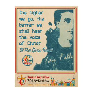BL PIER GIORGIO FRASSATI WORLD YOUTH DAY 2016 WOOD CANVASES
