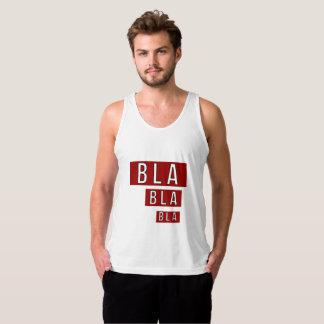 Bla Bla Bla Red Tank Top