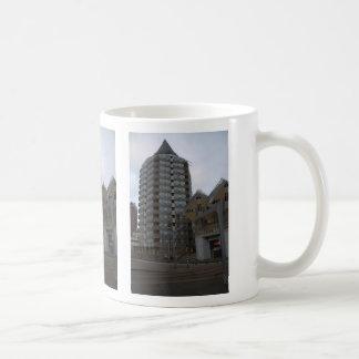 Blaaktoren, Rotterdam Basic White Mug
