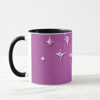Black 11 oz Combo Mug purple