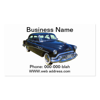 Black 1951 Buick Eight Antique Car Pack Of Standard Business Cards