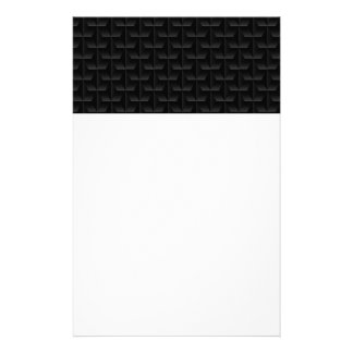 Black 3D mesh Stationery