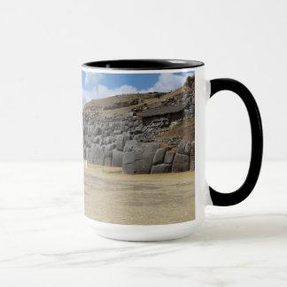 Black 444 ml Ringer Combo Mug
