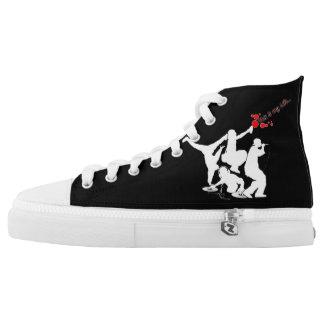Black 4 Elements 101 High Shoe