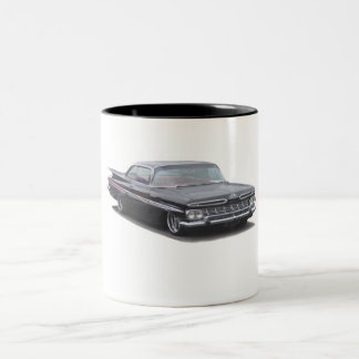 Black '59 Chevy Impala Two-Tone Coffee Mug