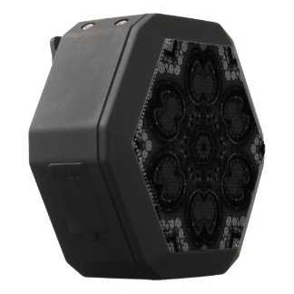 Black Abstract Black Boombot Rex Bluetooth Speaker