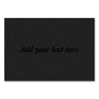 black abstract pattern card