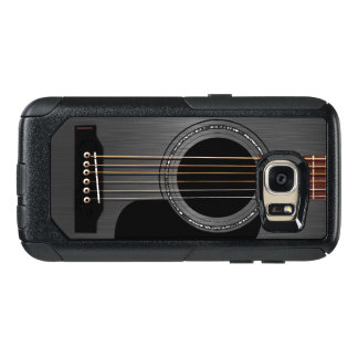 Black Acoustic Guitar OtterBox Samsung Galaxy S7 Case